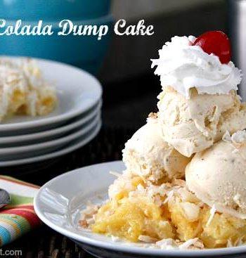 Pina Colada Dump Cake Recipe