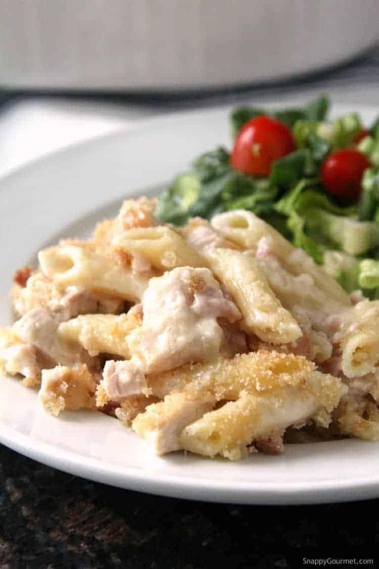 Chicken Cordon Bleu Pasta Casserole Recipe - how to make chicken cordon bleu with pasta