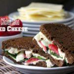Strawberry Chicken Salad Grilled Cheese