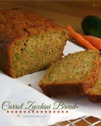 70+ Best Zucchini Recipes (Carrot Zucchini Bread Recipe)   SnappyGourmet.com