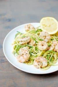 70+ Best Zucchini Recipes (Paleo Shrimp Scampi Recipe)   SnappyGourmet.com