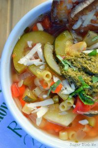 70+ Best Zucchini Recipes (Slow Cooker Summer Vegetable Soup Recipe)   SnappyGourmet.com
