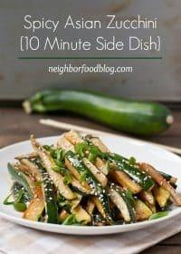 70+ Best Zucchini Recipes (Spicy Asian Zucchini Side Dish Recipe)   SnappyGourmet.com