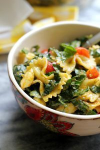 70+ Best Zucchini Recipes (Tuscan Kale Bell Pepper Zucchini and Tomato Pasta Salad)   SnappyGourmet.com