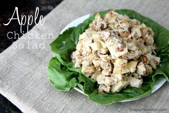 Apple Chicken Salad Recipe