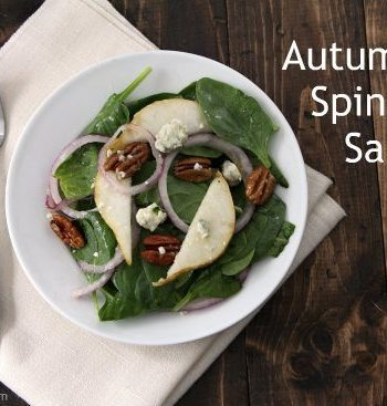 Autumn Spinach Salad Recipe