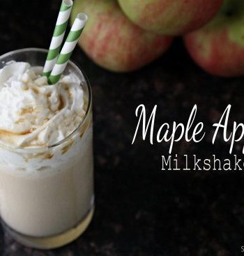 Easy Maple Apple Milkshake Recipe