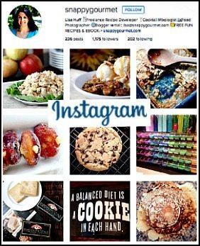 Snappy Gourmet Instagram