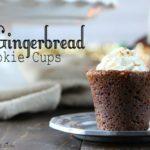 Gingerbread Cookie Cups Recipe