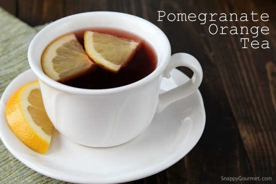 Pomegranate Orange Tea Recipe