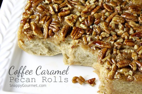 Coffee Caramel Pecan Rolls Recipe