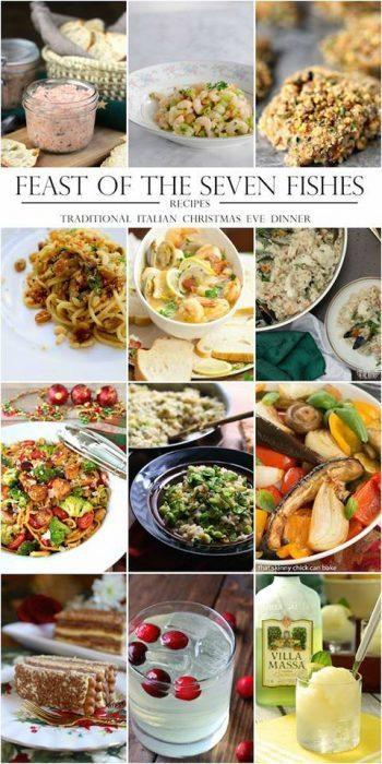 7 fishes italian christmas eve recipes - Food power recipes