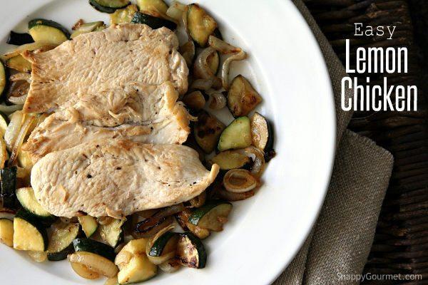 Easy Lemon Chicken Recipe – Dinner for One or More!