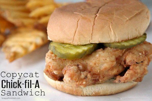Chick-fil-A Sandwich Copycat Recipe