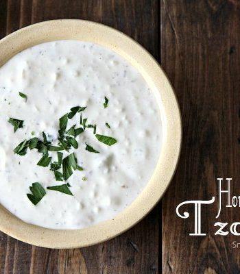 Homemade Tzatziki Recipe