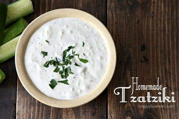 Homemade Tzatziki Recipe