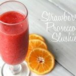 Strawberry Prosecco Slushie Recipe