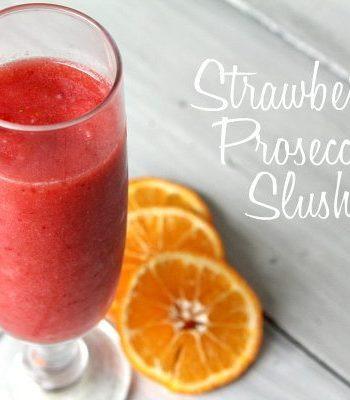Strawberry Prosecco Slushie Recipe