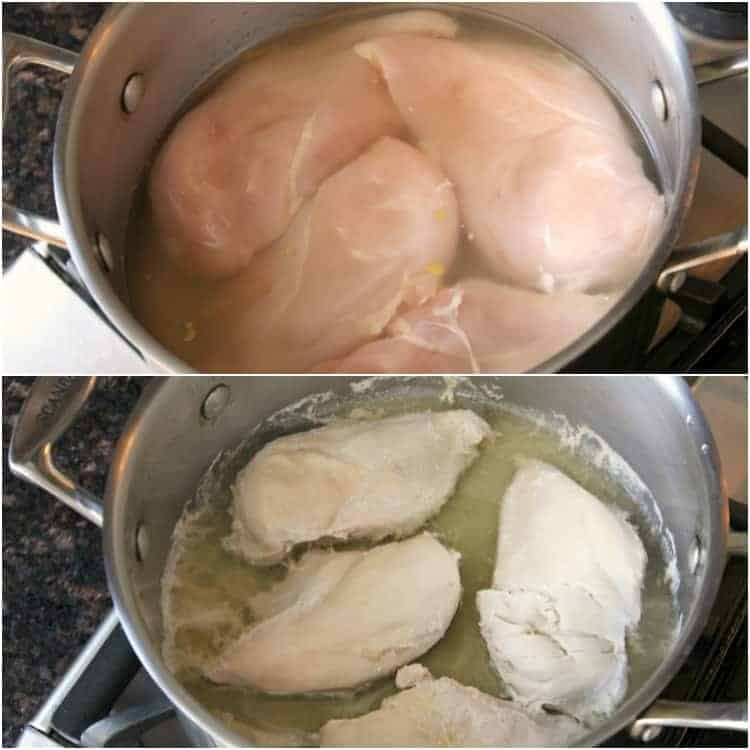 How to make shredded chicken - in pan