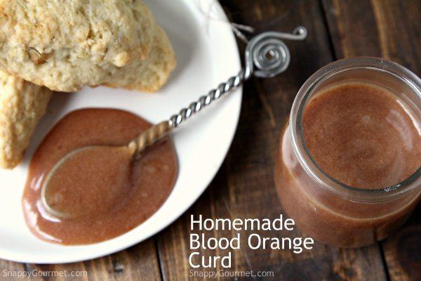 Homemade Blood Orange Curd Recipe