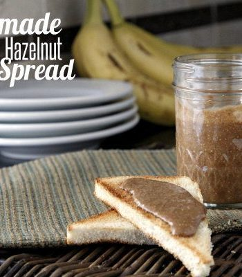Homemade Chocolate Hazelnut Spread