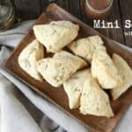 Mini Scones with Walnuts Recipe