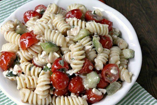 Easy Cold Pasta Salad Recipes Food Easy Recipes