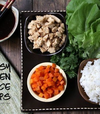 Easy Chicken Lettuce Wraps Recipe