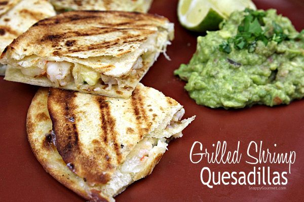 Grilled Shrimp Quesadillas Recipe