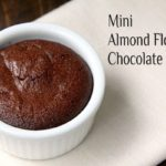 Mini Almond Flour Chocolate Cakes Recipe