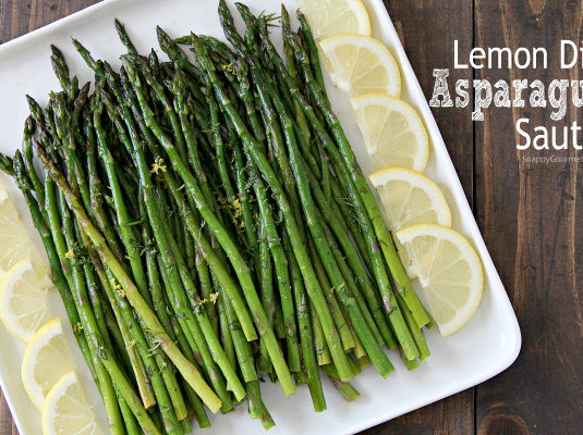 Lemon Dill Asparagus Sauté Recipe