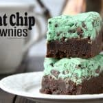 Mint Chip Brownies Recipe