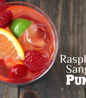 Raspberry Sangria Punch Recipe
