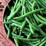 Simply Sautéed Italian Green Beans Recipe
