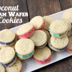 Coconut Cream Wafer Cookies Recipe