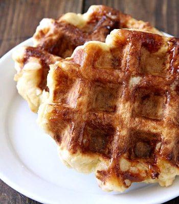 How To Make Homemade Belgian Liège Waffles