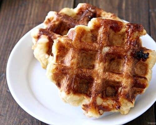 Belgian Liege Waffles (Sugar Waffles)