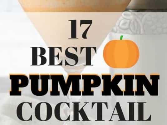 Pumpkin Cocktails – 17 of the Best Pumpkin Cocktail Recipes
