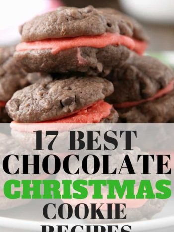 Best Chocolate Christmas Cookie Recipes - Traditional and popular Christmas cookies and recipes with chocolate! SnappyGourmet.com