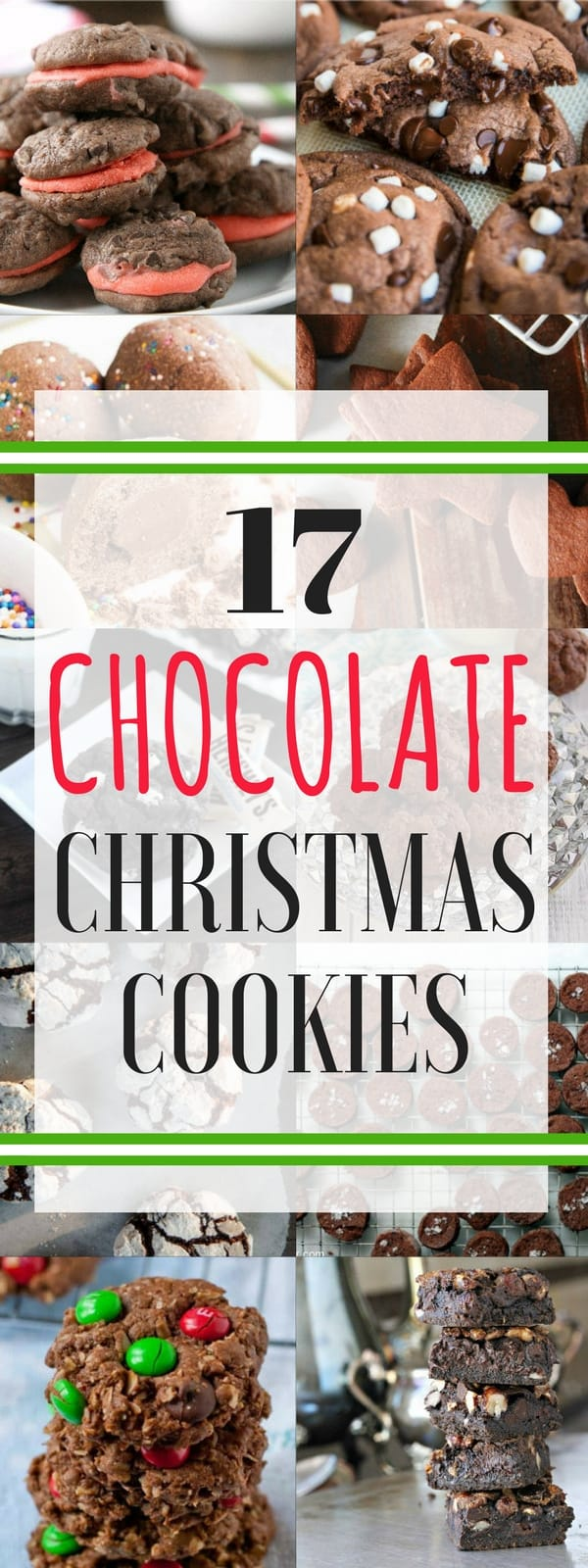 Chocolate Christmas Cookies - A little bit of everything including old fashioned cookies, kids Chrismtas cookies, gourmet Christmas cookies, and more recipes all with chocolate! SnappyGourmet.com