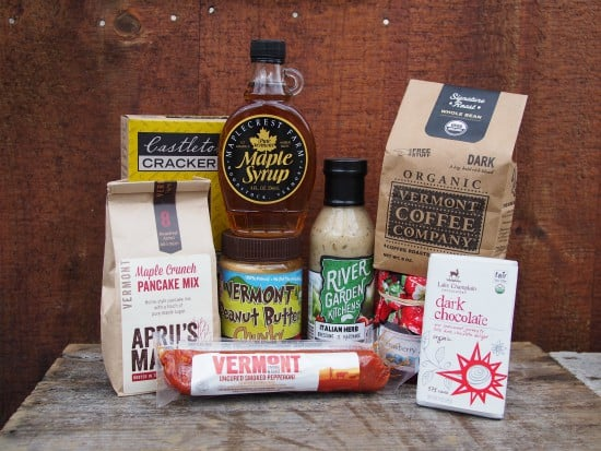 12 Days of Christmas Gift Ideas for Foodies - Vermont products