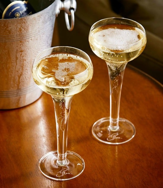 12 Days of Christmas Gift Ideas for Foodies - flutes