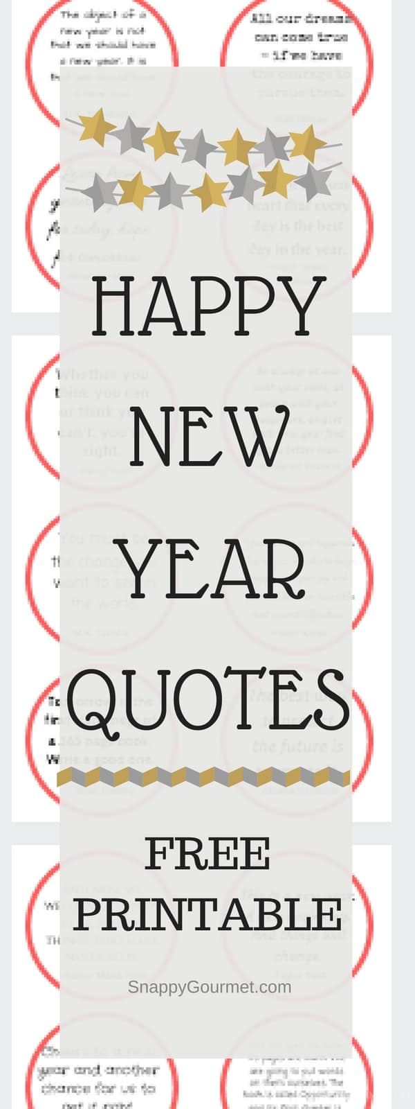 Happy New Year Quotes Free Quotes Printable Snappy Gourmet