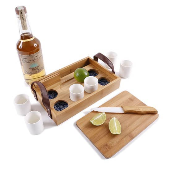 12 Days of Christmas Gift Ideas for Foodies - tequila tasting set