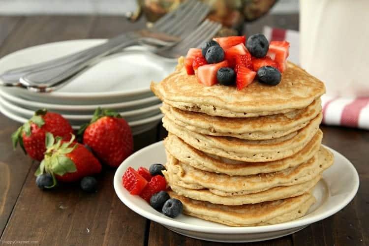 Almond Flour Pancakes Recipe - easy gluten free pancakes