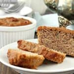 Almond Flour Banana Recipe - mini banana bread loaves made with almond flour