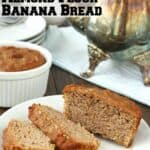 Almond Flour Banana Bread Recipe
