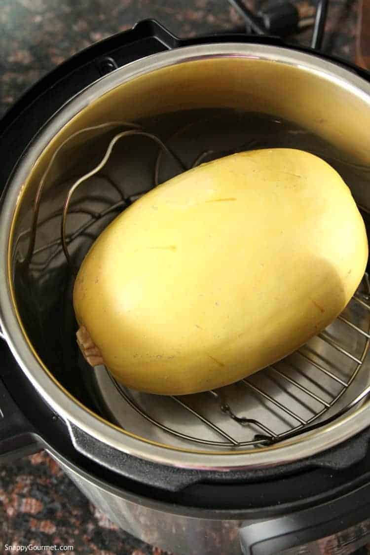Instant Pot Spaghetti Squash - how to make spaghetti squash