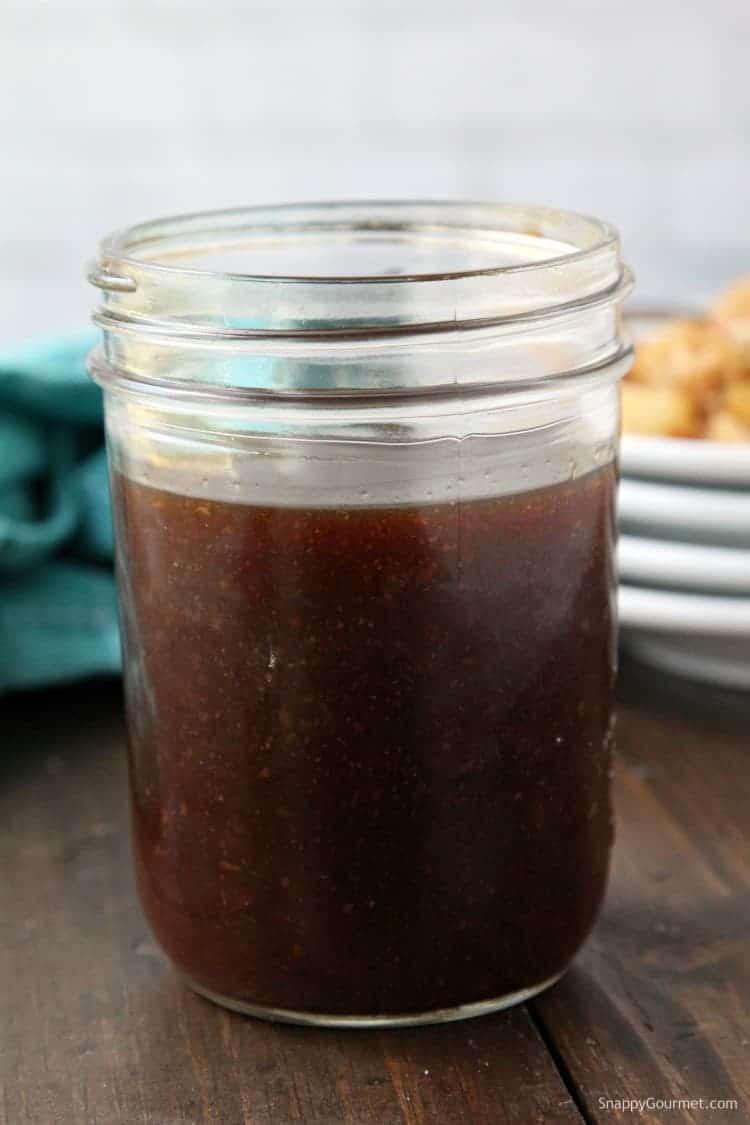 Teriyaki Sauce - homemade teriyaki sauce recipe. The best for chicken, beef, pork, stir fries, and even a teriyaki burger