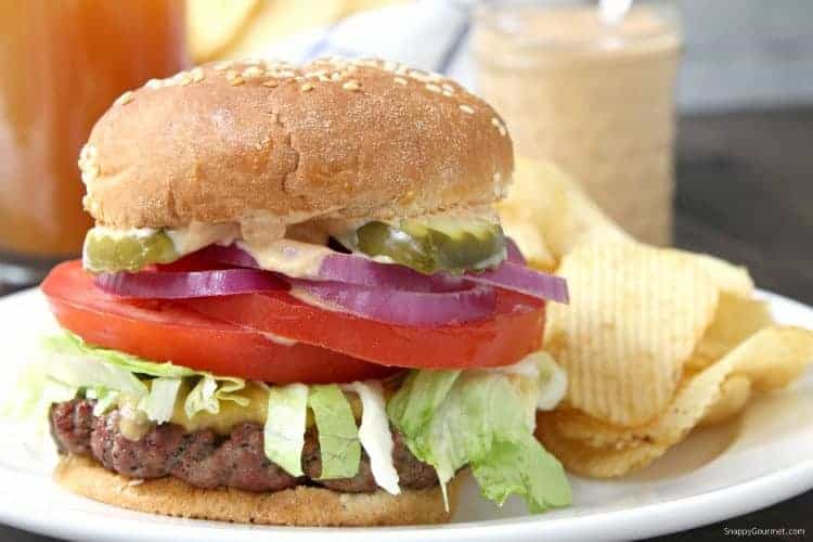 Killer Burger Recipe - An All American Burger that is easy to make on the grill or stove